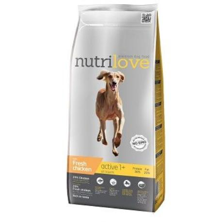 NutriLove Active fresh kuřecí 12kg