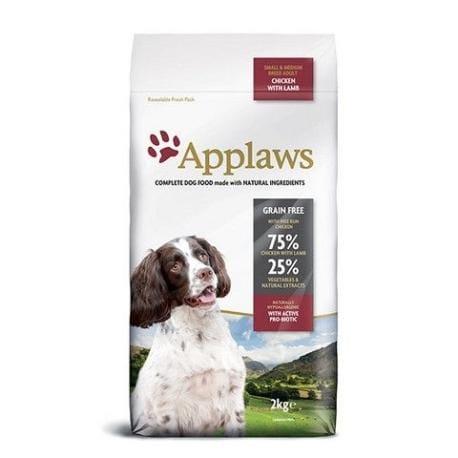 Applaws Dog Adult Small&Medium Breed Chicken&Lamb 2kg