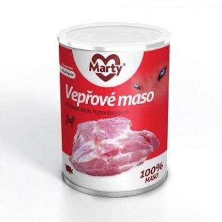 Marty konzerva 100% masa - monoprotein vepřové 400g