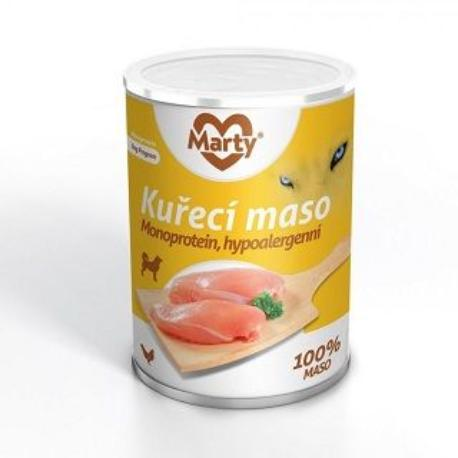 Marty konzerva 100% masa - monoprotein kuřecí 400g