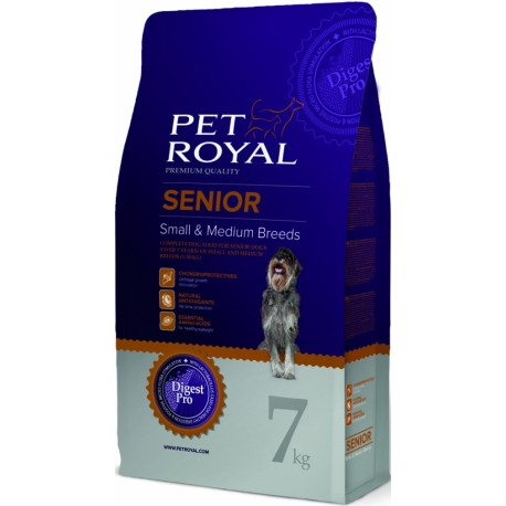 Pet Royal Senior Dog Small & Medium Breed 7kg