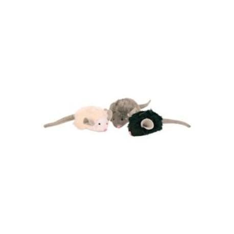 Hračka kočka Myš mikročipová se zvukem catnip 6cm TR