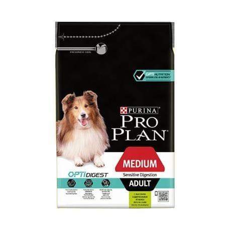 ProPlan Dog Adult Medium Sens.Digest 14kg jehněčí