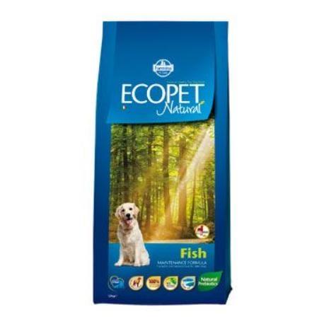Ecopet Natural Adult Fish Maxi 12kg