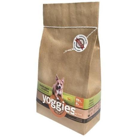 Yoggies Mini Active 1,2kg kachna a zvěřina