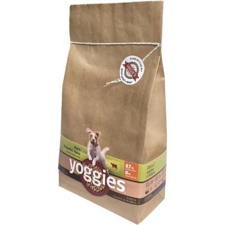 Yoggies 1,2kg kuřecí a hovězí maso