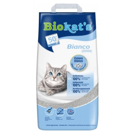 Podestýlka Biokat´s Bianco Classic Hygiene 5kg