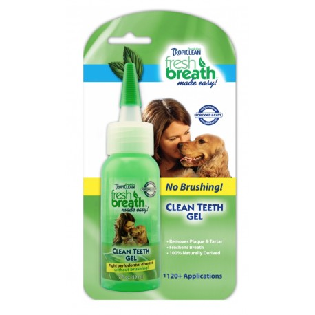 Tropiclean bělící gel na zuby Fresh Breath pes 118ml