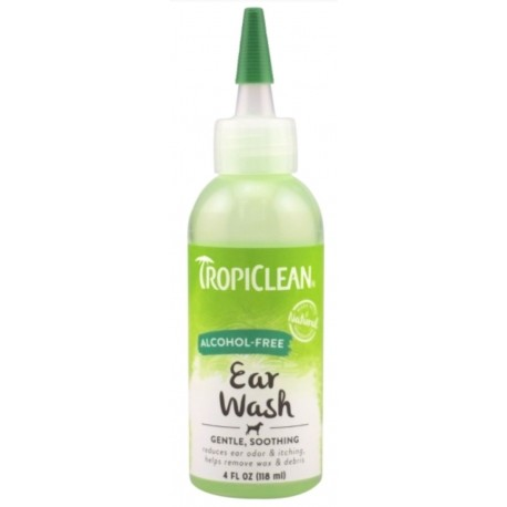 Tropiclean kapky na čištění uší bez alkoholu 118ml