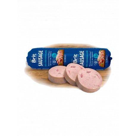 Brit Sausage Chicken & Lamb 800g New