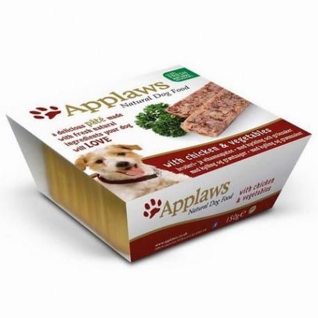 Applaws paštika Dog s kuřecím a zeleninou 150g