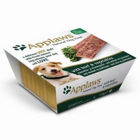 Applaws paštika Dog s hovězím a zeleninou 150g