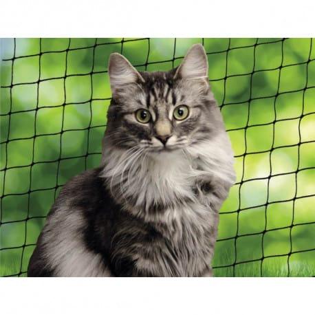 Nobby ochranná síť M pro kočky černá 4x3m