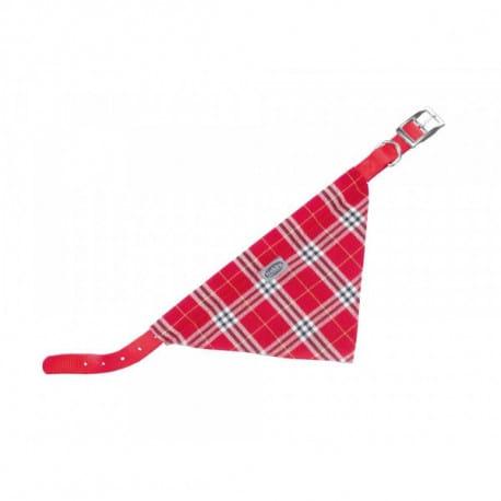 Nobby Scarf obojek se šátkem pro psa 57cm červená