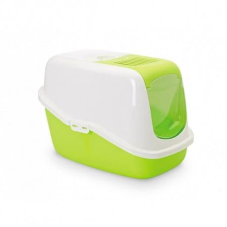 Savic NESTOR toaleta pro kočky 56x39x38cm zelená