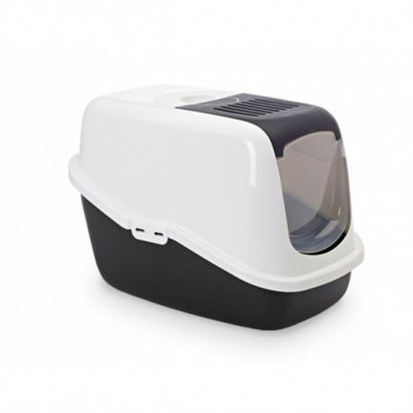 Savic NESTOR toaleta pro kočky 56x39x38cm černá