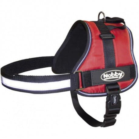 Nobby Seguro bezpečnostní postroj pro psa M-L červený 65-80cm