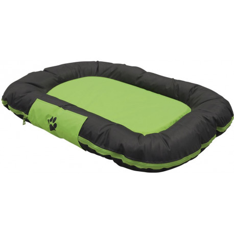 Nobby RENO odolný polštář pro psy zelená 80x58x10cm
