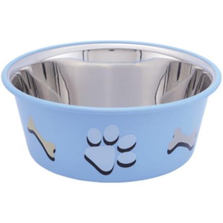 Nobby Cutie nerez miska v TRP modrá 19,5cm 1,90l