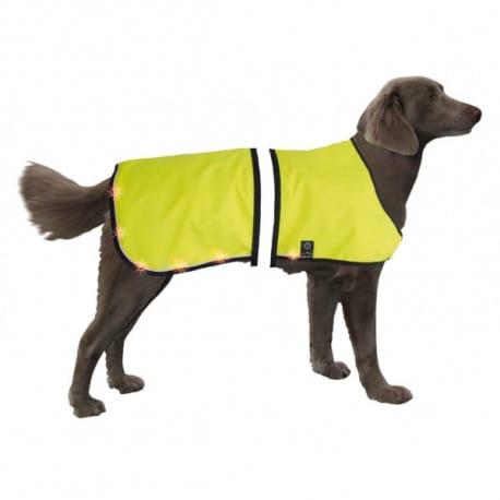 Nobby bezpečnostní LED svítící vesta L pro psa