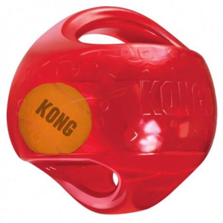 Kong Jumbler hračka pro psy gumový míč L/XL 18cm