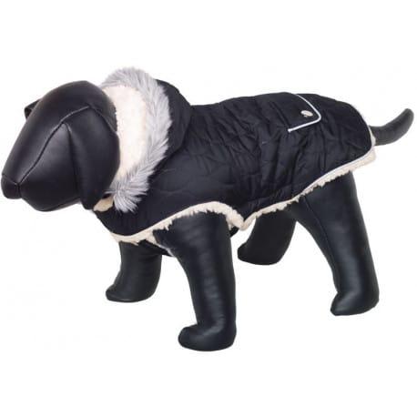 Nobby Polar obleček pro psa s kapucí černá 40cm