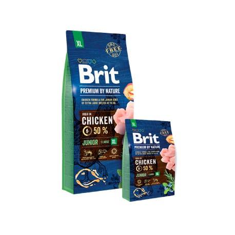 Brit Premium Dog by Nature Junior XL 2 x 3kg