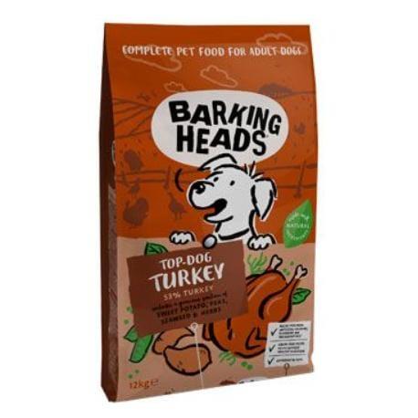 Barking Heads Top Dog Turkey Grain Free 12 kg