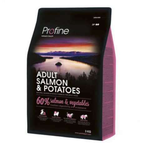 Profine NEW Dog Adult Salmon & Potatoes 3 kg