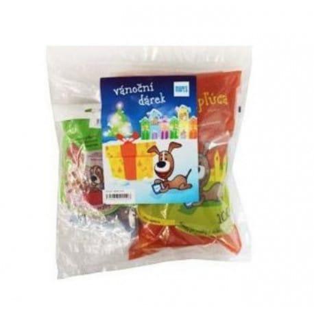 Pochoutka sušená MAPES vánoční dárek 4v1 pro malé psy