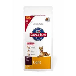 Hill's Canine Dry Adult Light 12kg + Sleva 5% od 2ks