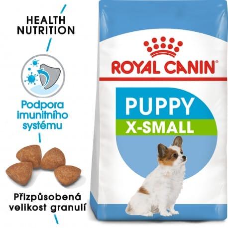 Royal Canin X-Small Puppy granule pro trpasličí štěňata 500g