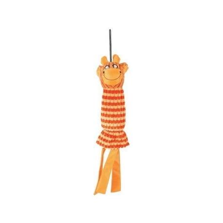 Hračka pes GLORIA VELVET plyš oranžová 45cm Zolux