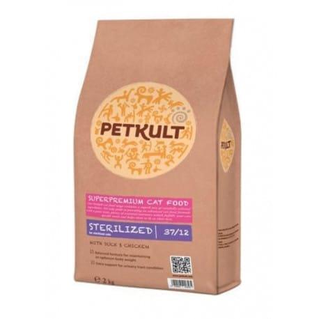 Petkult Cat Sterilized 2 x 7kg