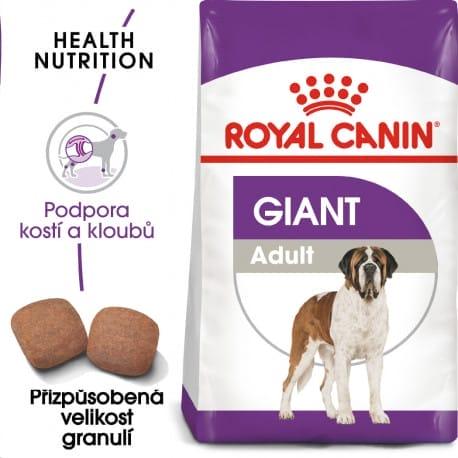 Royal Canin Giant Adult granule pro dospělé obří psy 15kg