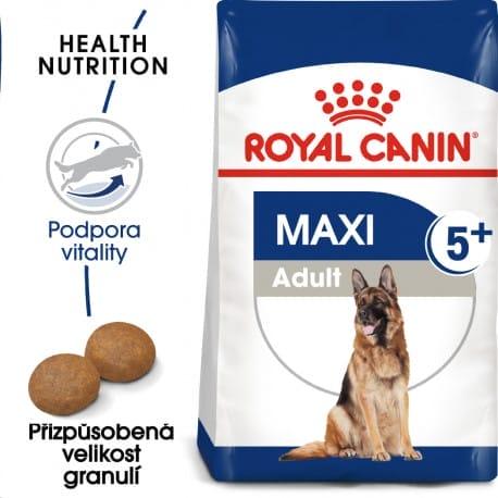 Royal Canin Maxi Adult 5+ granule pro dospělé stárnoucí velké psy 15kg