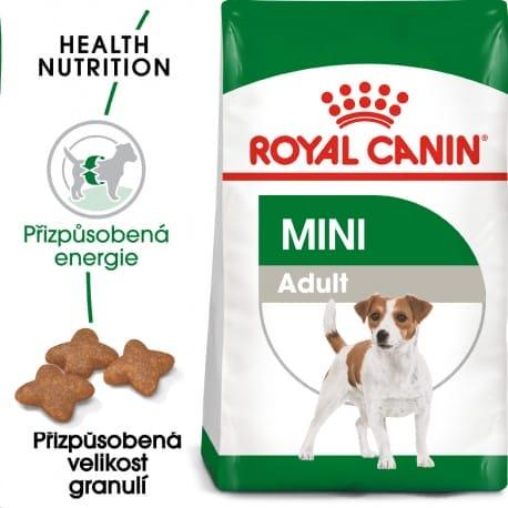 Royal Canin Mini Adult granule pro dospělé malé psy 2kg