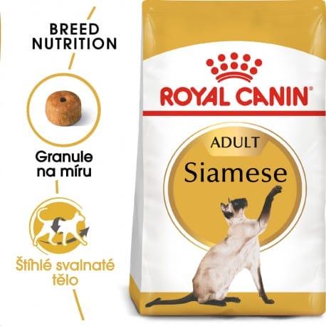 Royal Canin Siamese Adult granule pro siamské kočky 400g