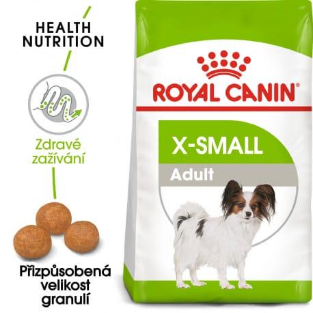 Royal Canin X-Small Adult granule pro dospělé trpasličí psy 500g