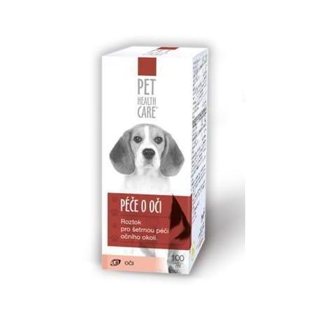 Péče o oči pro psy a kočky 100ml PHC