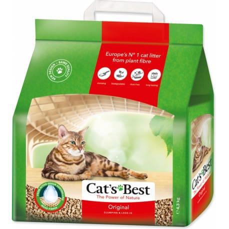 Podestýlka Cats Best Öko Plus Kočkolit 10l