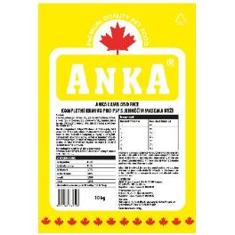 Anka Lamb& Rice 20kg