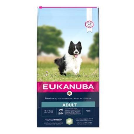 Eukanuba Dog Adult Lamb&Rice Small&Medium 2,5kg