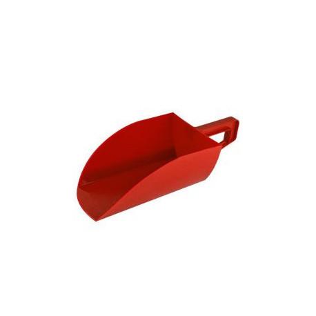 Lopatka na krmivo plast 1,5kg, červená