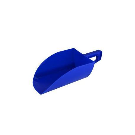 Lopatka na krmivo plast 1,5kg, modrá