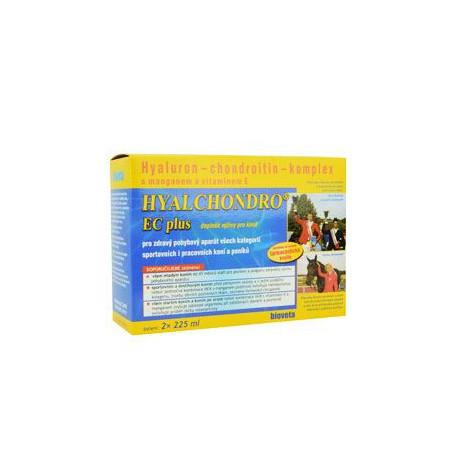 Bioveta HYALCHONDRO EC Plus doplněk výživy pro koně 2 x 225 ml