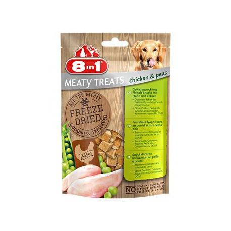 Pochoutka 8in1 FD Chicken/Peas 50g