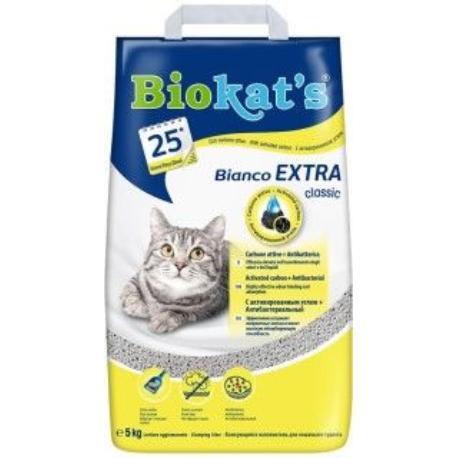 Podestýlka Biokat´s Bianco Extra 5kg