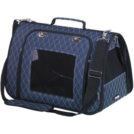 Nobby přepravní taška KALINA do 7kg modrá 44 x 25 x 27 cm