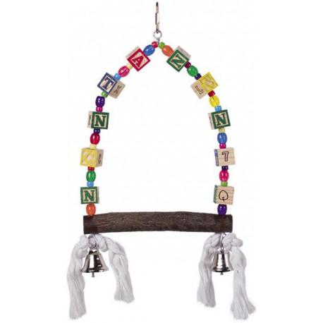 Nobby hračka pro střední papoušky houpačka 35x18cm
